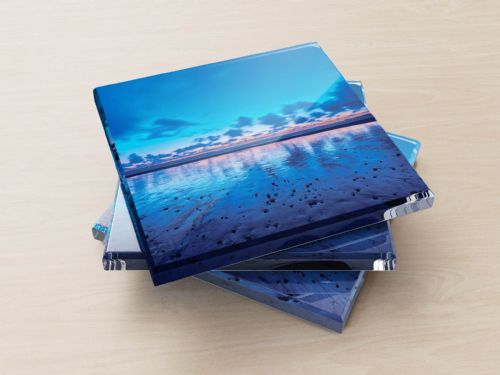 Newgale Beach, St Bride's Bay, Pembrokeshire - Glass Coasters